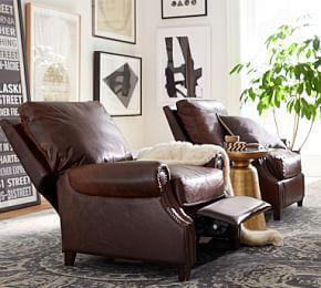 Lansing Leather Recliner