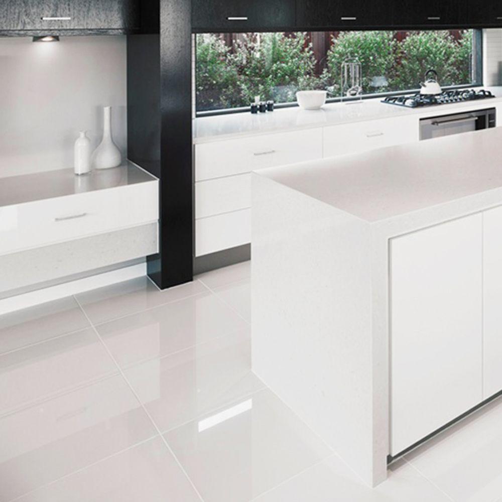 Large White Floor Tiles – http://www.otoseriilan.com