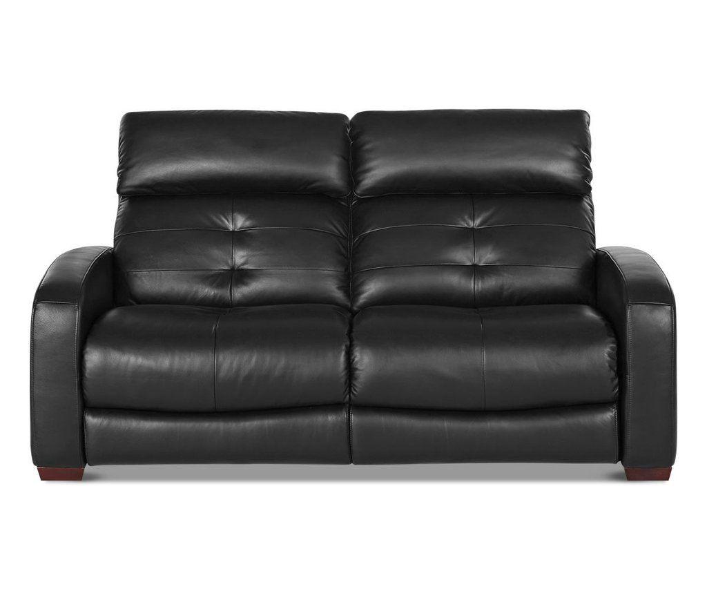 Larus Leather Power Reclining Sofa