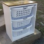 Laundry Basket Holder Laundry Room Decor Laundry Organizer Laundry Basket Organizer Laundry Furniture Clothes Basket Organizer Cabinet