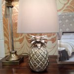 Laura Ashley pineapple lamp