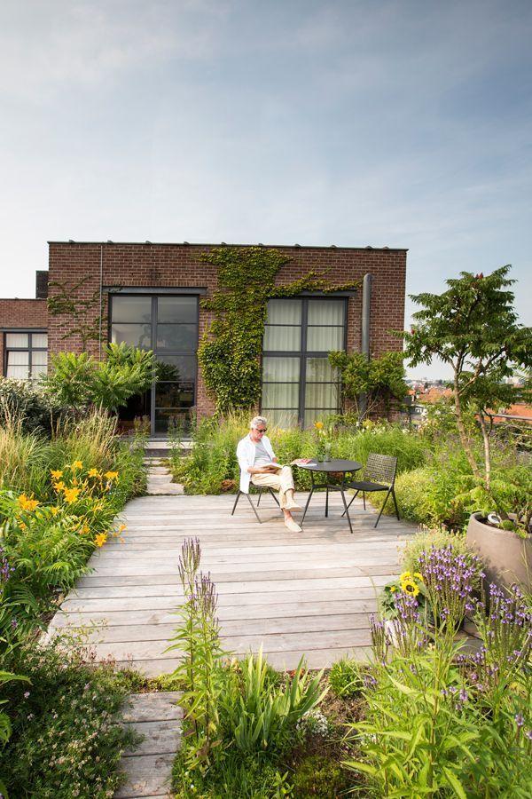 Leon ist ein Outdoor-Mann und liebt seinen erstaunlichen Dachgarten in Brusse … – https://pickndecor.com/haus