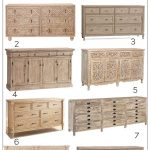 Light Wood Dresser Roundup 2018 | The Harper House