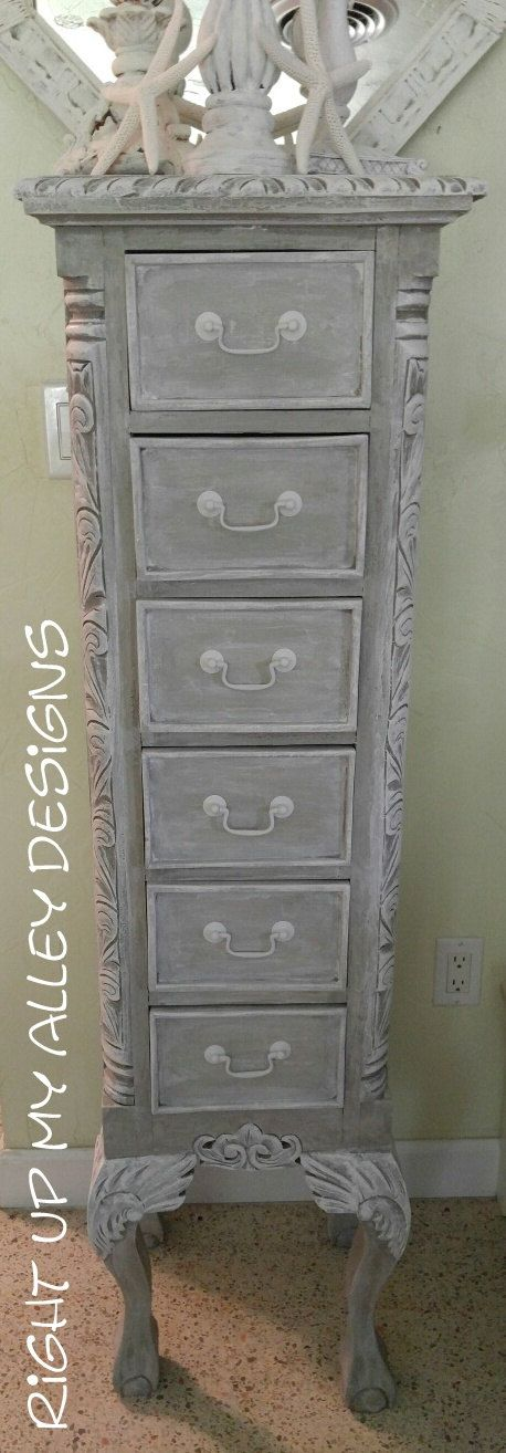 Lingerie Chest,French Provincial tall chest,Chest of drawers,Shabby chic tall Chest,Shabby dresser,Annie Sloan painted furniture,Tall chest