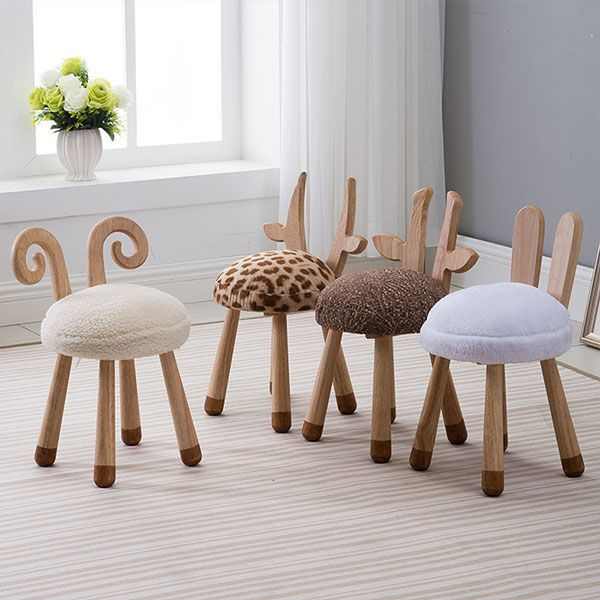 Little Animal Wooden Chair from Apollo Box