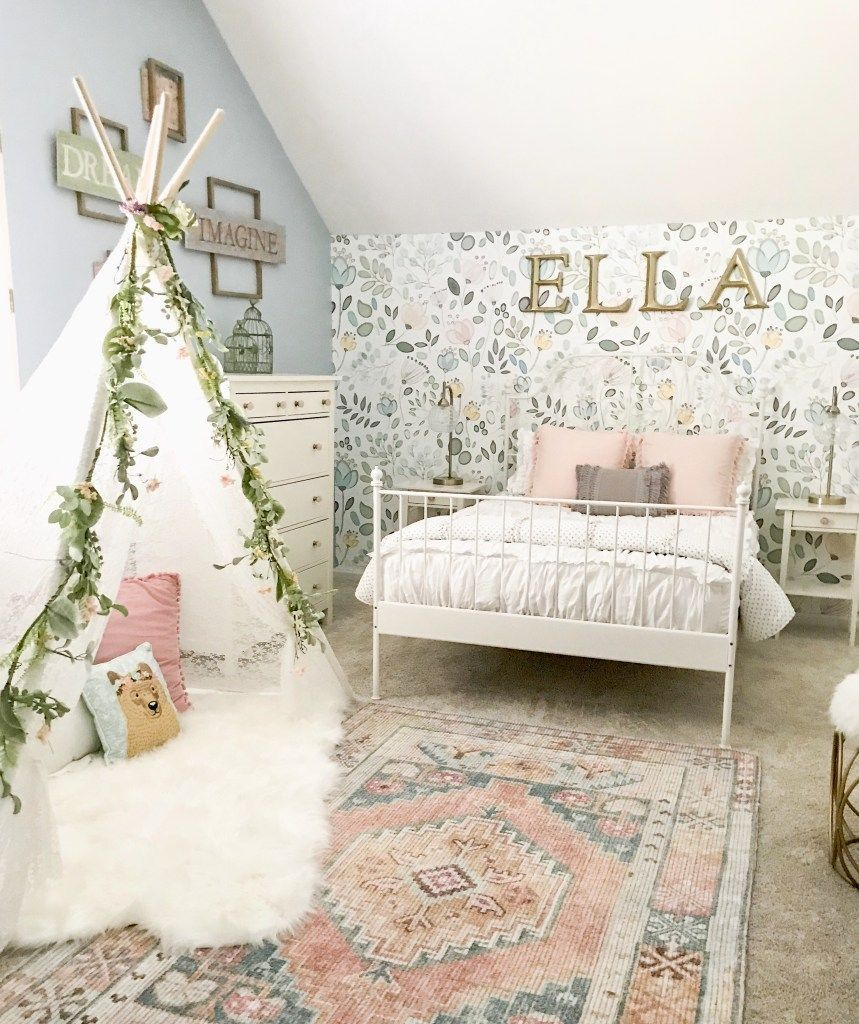 Little Girl Decor and Bedroom Reveal – https://pickndecor.com/interior