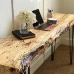Live Edge-Tisch / Live Edge-Schreibtisch / Live Edge-Sofatisch / Schreibtisch Nous ... - Wood Design