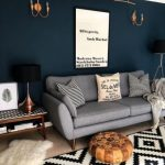 Living Room Dark Walls Small Spaces 39+ Super Ideas