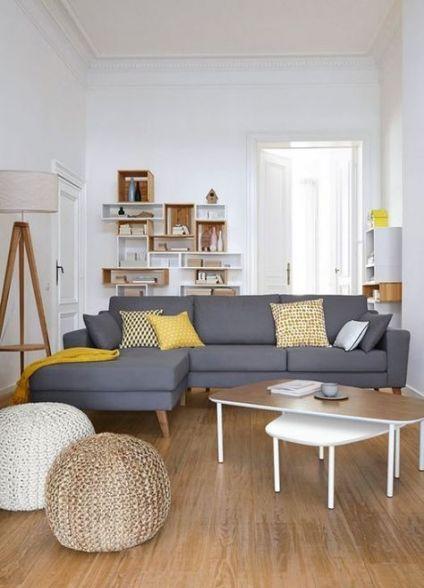 Living Room Decor Grey Sofa Pillows 54 Ideas