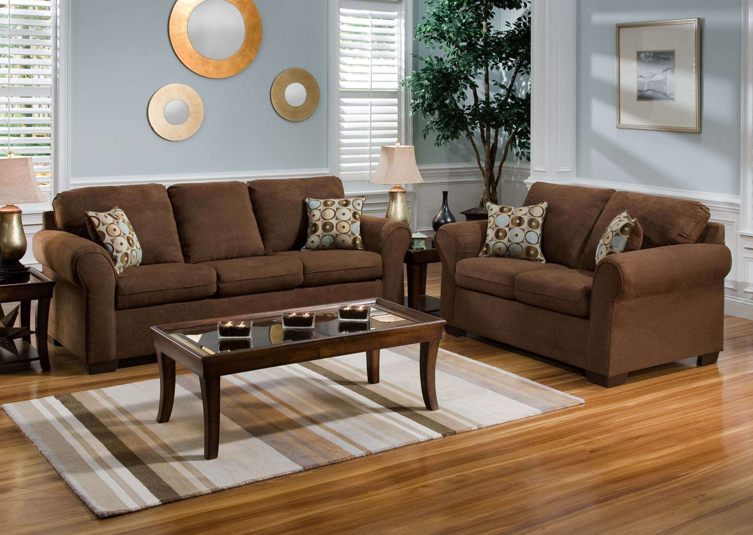 Living Room Ideas With Brown Sofas – Dream House Ideas