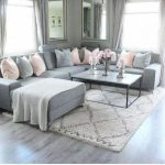 Living Room Rug Grey Couch Black White 68 Trendy Ideas