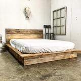 Low Pro – Rustic Modern Platform Bed
