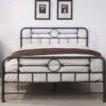 Lyndhurst Black Metal Vintage Victorian Style Bed Frame Double / King Size