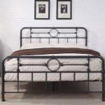 Lyndhurst Black Metal Vintage Victorian Style Bed Frame Double / King Size