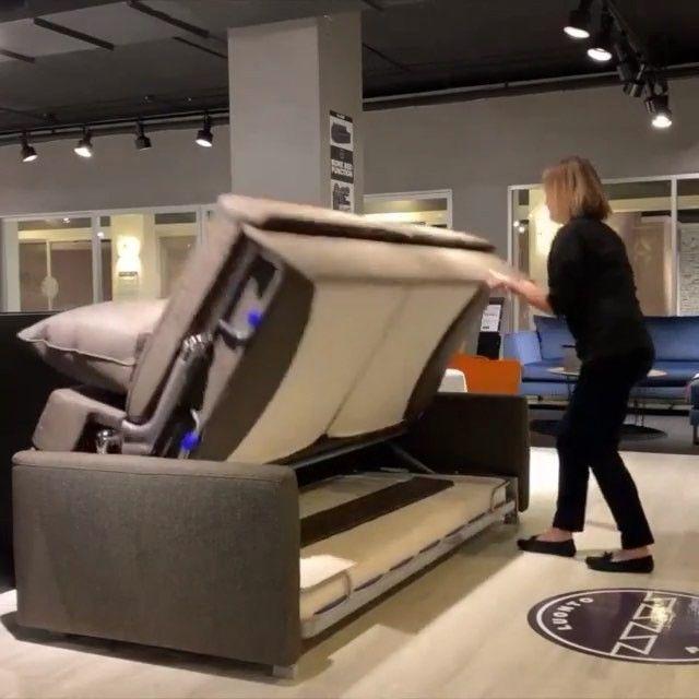 "MOBİLYA DEKORASYON PLATFORMU. on Instagram: ""SATILIK DEGİLDİR. #Repost @luontofurniture ・・・ The bunk bed sleeper sofa☝️ Elevate sofa turns from a sofa to bunk bed in a seconds.  Get…"""
