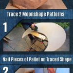 Make This Pallet Half Moon Cradle For That Special Baby