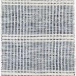 Malta Blue Woven Wool Rug | Dash & Albert