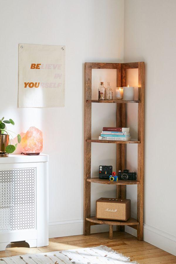 Mara Corner Bookshelf