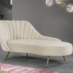 Margo Cream Chaise