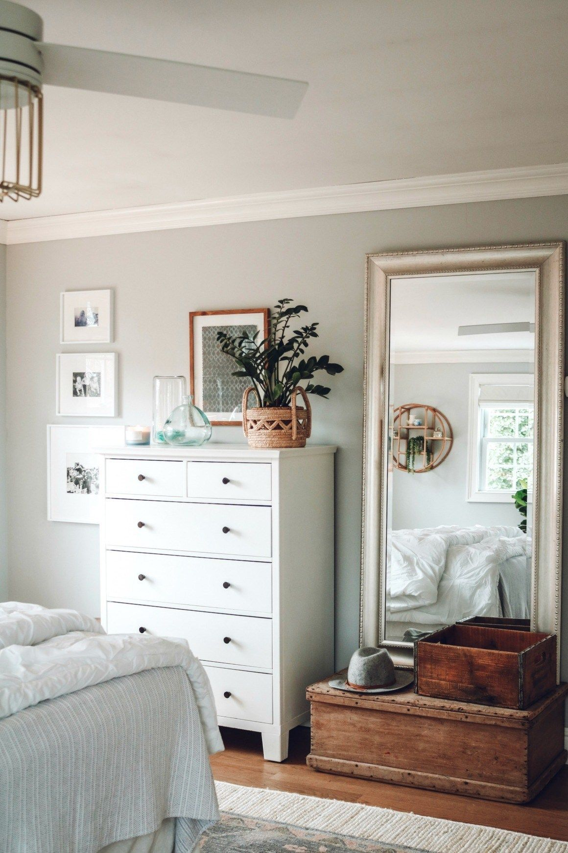 Master Bedroom Makeover with Home Office – Nesting With Grace