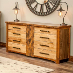 Mendocino Reclaimed Barn Wood 8 Drawer Dresser