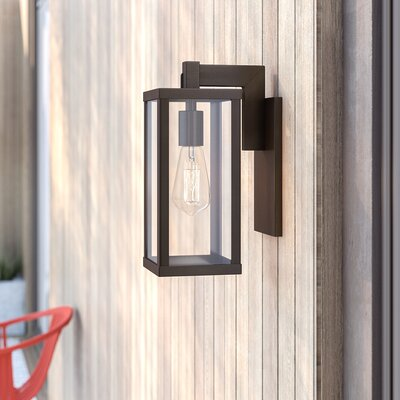 Mercury Row Pratt Outdoor Wall Lantern | Wayfair
