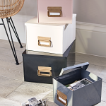 Metal Storage Boxes - Mad About The House