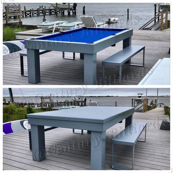 Metropolitan Outdoor Pool Table