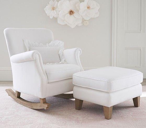 Minna Small Spaces Rocking Chair & Ottoman