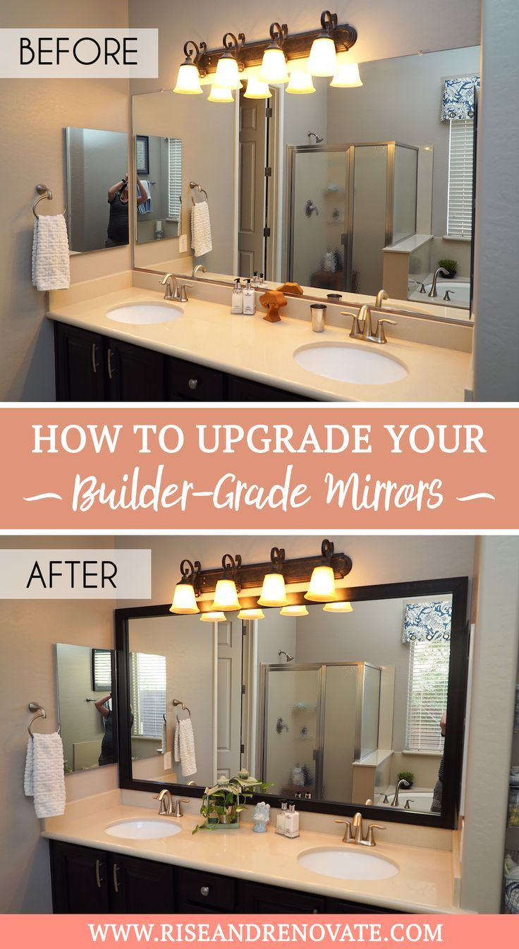 Mirror Frame Review of MirrorChic.com | Rise and Renovate
