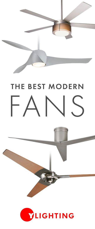 Modern Ceiling Fans – Designer + Contemporary