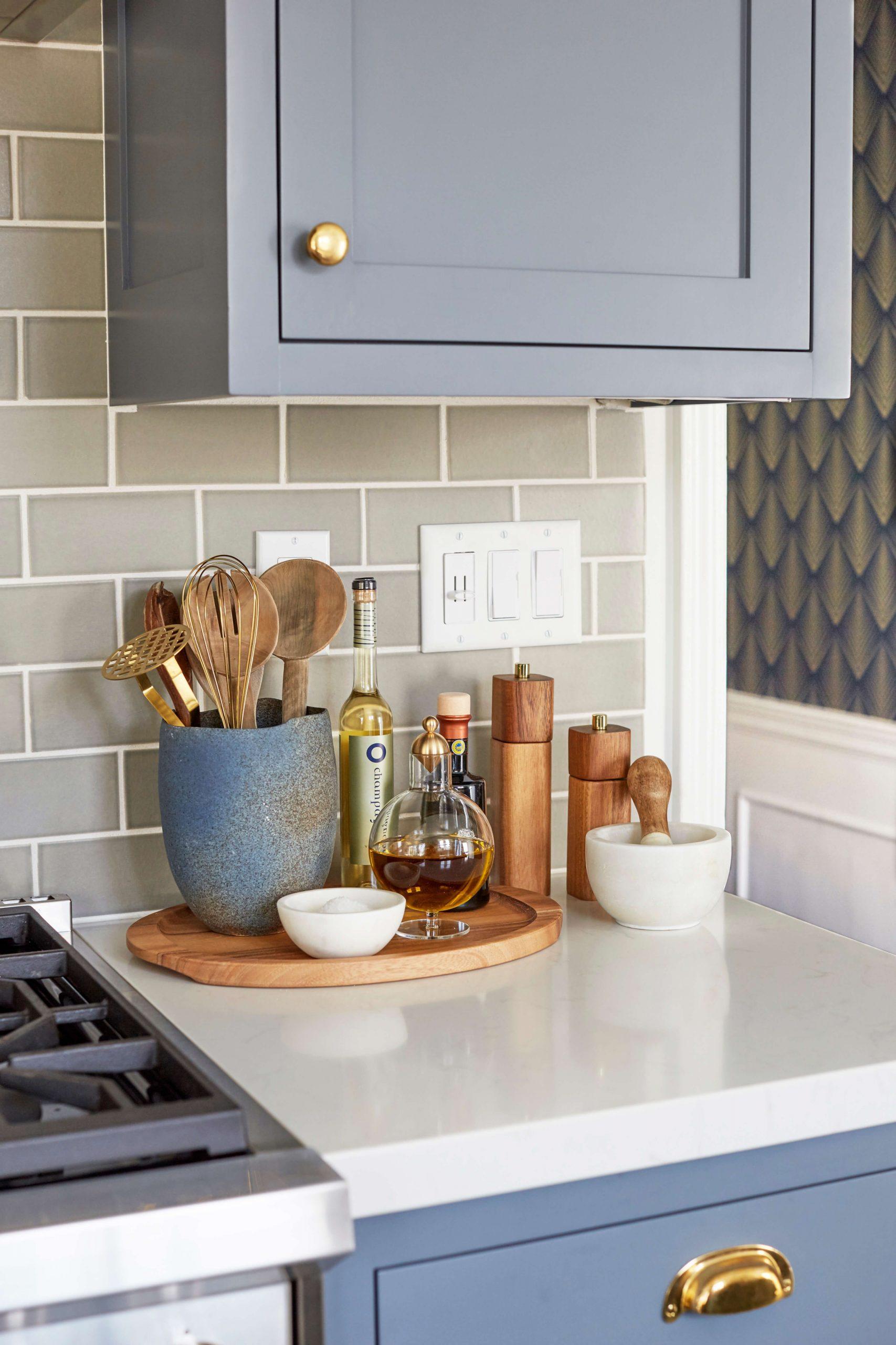 Modern Deco Kitchen Reveal – Emily Henderson