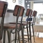 Modern Farmhouse Barstools-Up Close - City Farmhouse