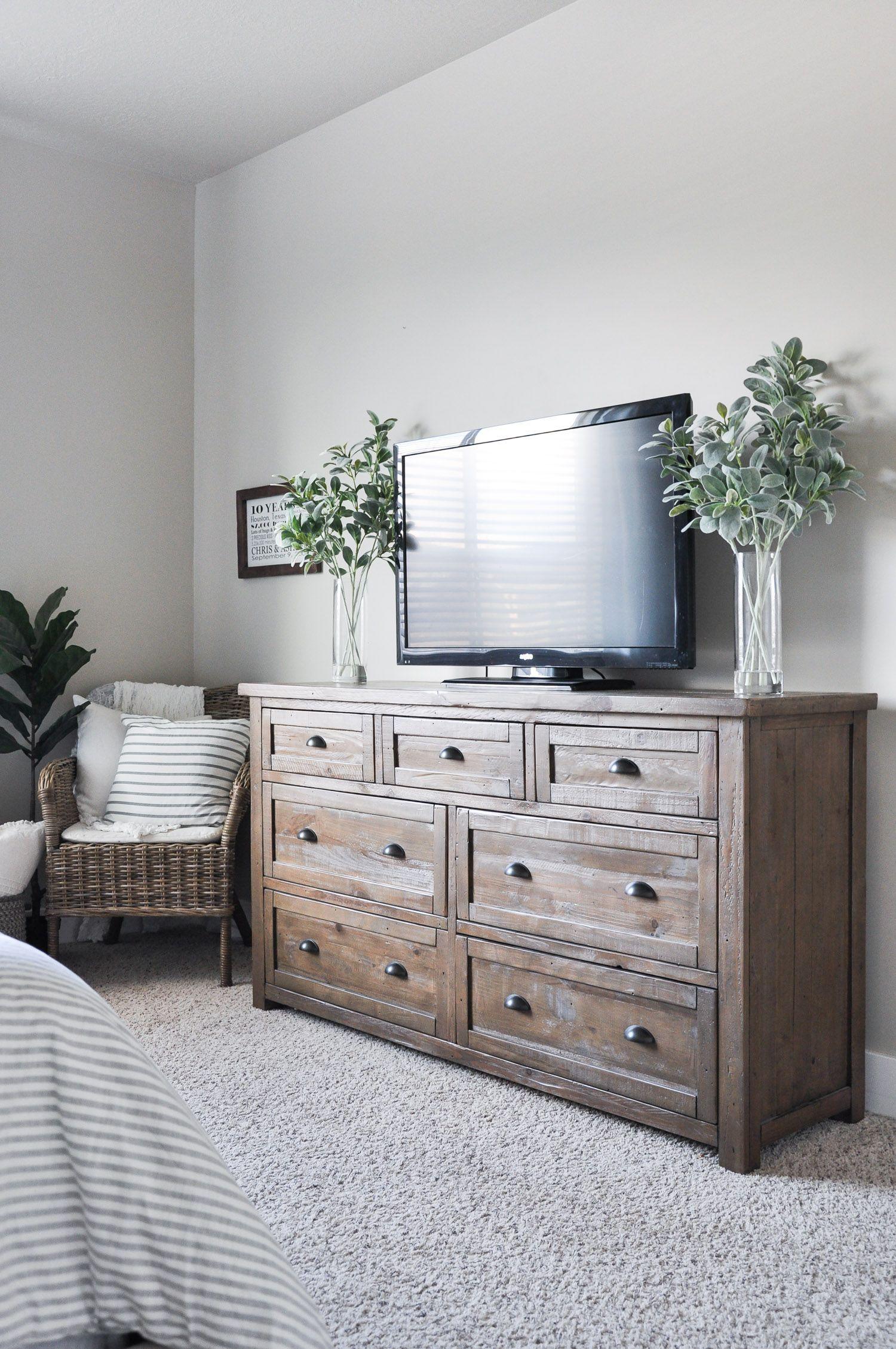 Modern Farmhouse Master Bedroom – Cherished Bliss