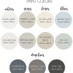 Modern Farmhouse Paint Colors