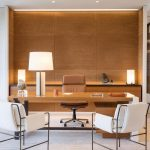 Modern Office Design Ideas With Elegant Accent