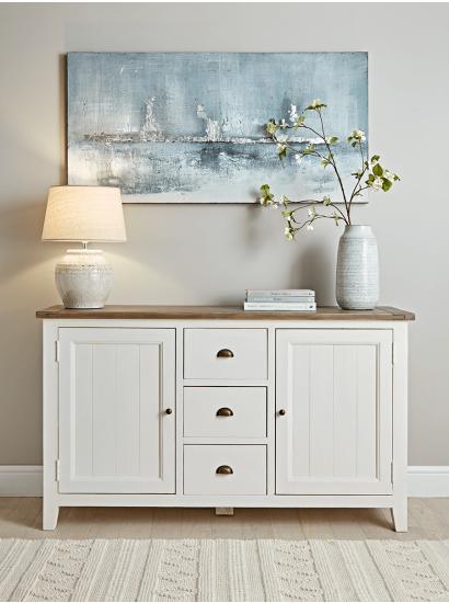Modern Sideboards, Small & Low Oak Hallway & Living Room Sideboards UK