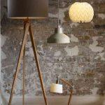 Modern Tripod Floor Lamp | M&S