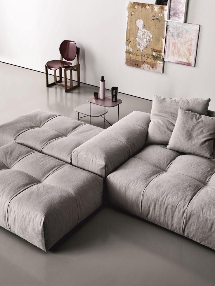 Modular fabric sofa PIXEL | Fabric sofa – Saba Italia – #fabric #Italia #modular…