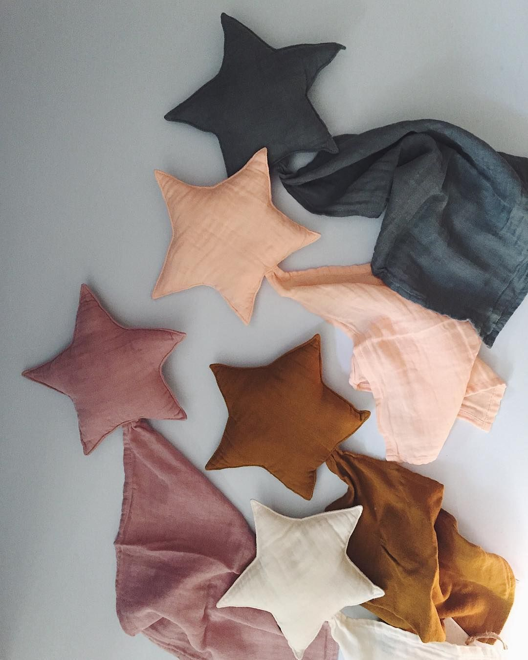 """Molly Meg on Instagram: """"Star shaped comforters made from organic cotton that gets softer with each wash . New baby accessories collection by Numero 74 is now…"""""""