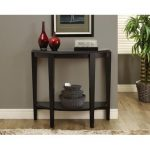Monarch Specialties Cappuccino Hall Console Accent Table I 2450