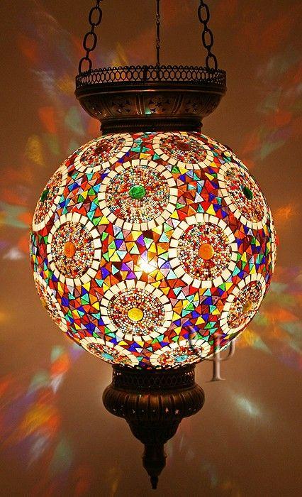 Mosaic Hanging Lamp – enjoyistanbul.com