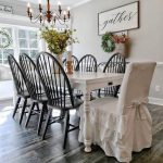 Most Popular Farmhouse Style Dining Room Design Ideas #dinningroom #Decorating #...