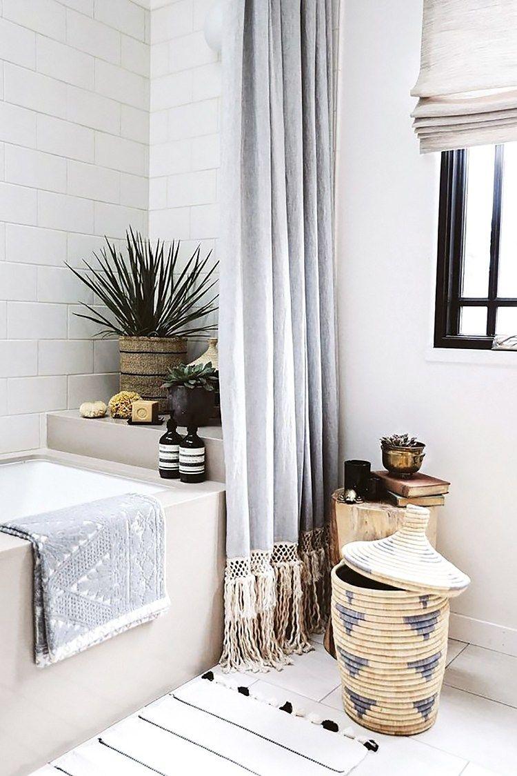 My Mid-Century Bohemian Bathroom Inspiration   Musings on Momentum