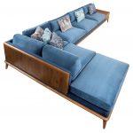 Mysig - L Shaped Sofa: A Round Edged Sofa - Contemporary Sofas & Sectionals - Dering Hall