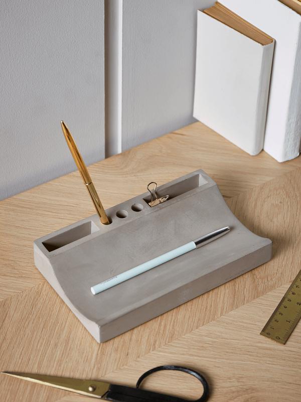 NEW Concrete Desk Tidy