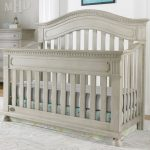 Naples Arched Convertible Crib Grey Satin and  Heirloom Quality Baby Child Furniture Decor Affordable Prices. in Posh Outlet