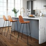 Neil Faux Leather Bar & Counter Stool
