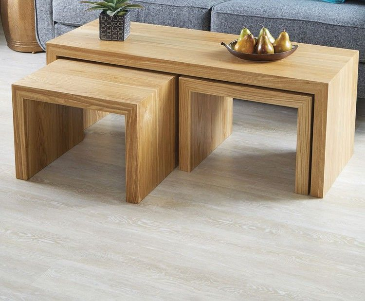 Nesting Tables: As Stunning as They Are Sturdy, Thanks to Our Simple Grain-Wrapping Technique — Wood