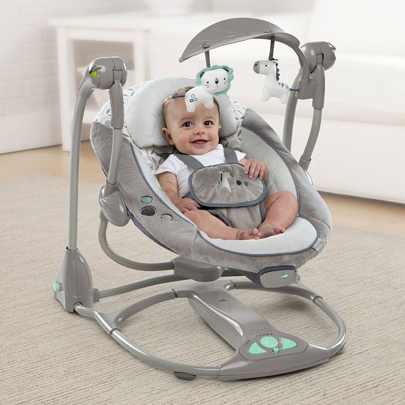 Newborn Gift Multi-function Music Electric Swing Chair Infant Baby Rocking Chair Comfort BB Cradle Folding Baby Rocker Swing 0-3 –